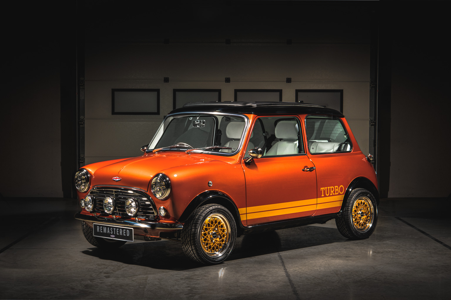 David Brown's 007 inspired Mini Remastered